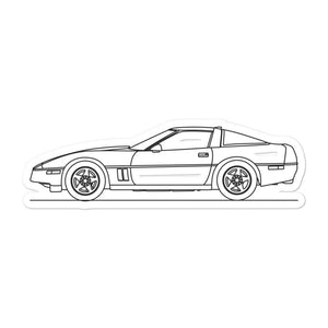 Chevrolet Corvette C4 ZR1 Sticker