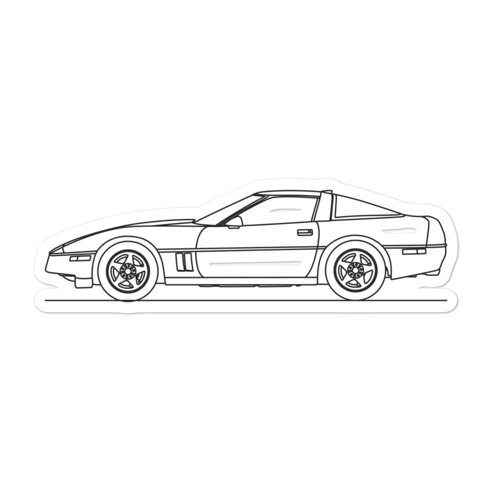 Chevrolet Corvette C4 ZR1 Sticker - Artlines Design