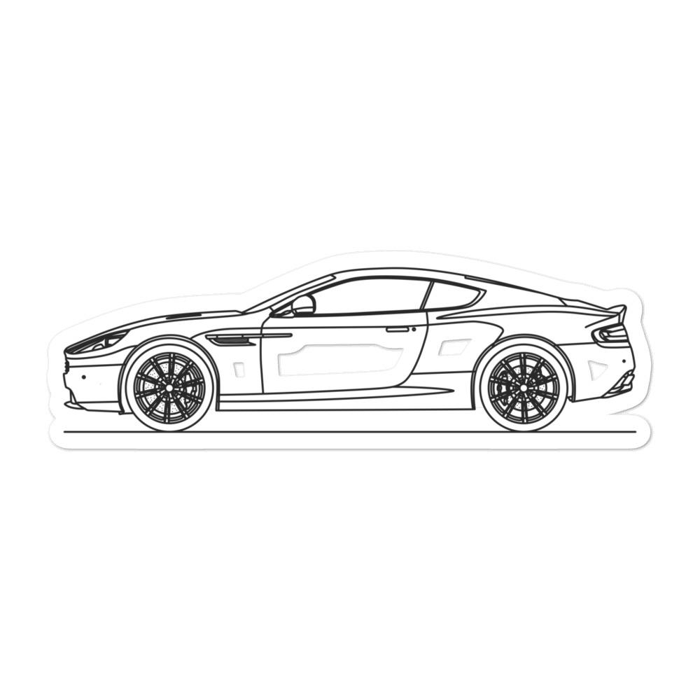Aston Martin DB9 Sticker
