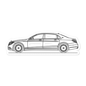 Mercedes-Benz W222 S 600 Maybach Sticker - Artlines Design