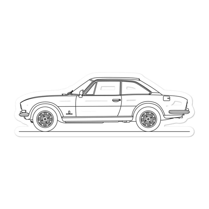 Peugeot 504 Coupe Sticker