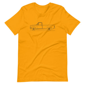 Chevrolet C/K 3rd Gen T-shirt Gold - Artlines Design