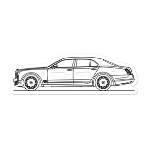 Bentley Mulsanne Sticker