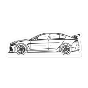 Jaguar XE SV Project 8 Sticker - Artlines Design