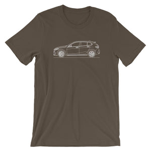 BMW F40 M135i T-shirt Army - Artlines Design