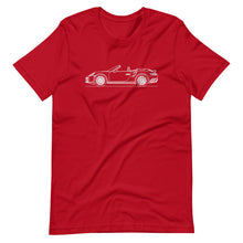 Load image into Gallery viewer, Porsche 911 991.2 Turbo Cabriolet T-shirt Red