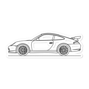 Porsche 911 996 GT3 RS Sticker
