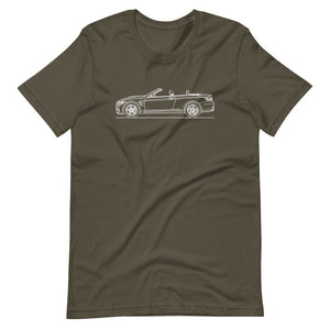 BMW F83 M4 T-shirt Army - Artlines Design