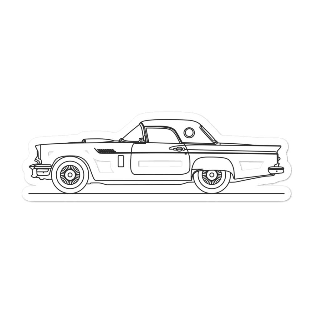 Ford Thunderbird I Sticker - Artlines Design