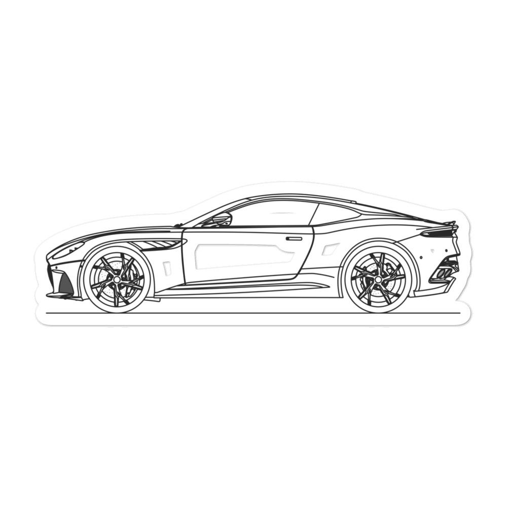 Aston Martin DBS Superleggera Sticker