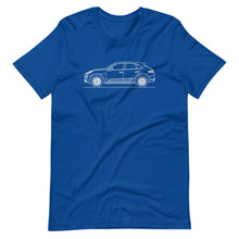 Load image into Gallery viewer, Porsche Macan Turbo 95B T-shirt True Royal - Artlines Design