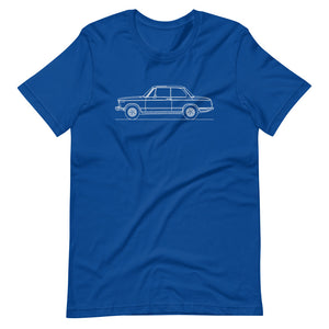 BMW 2002 T-shirt True Royal - Artlines Design