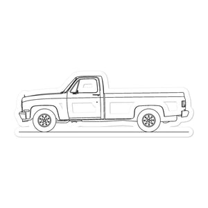 Chevrolet C/K 3rd Gen Sticker