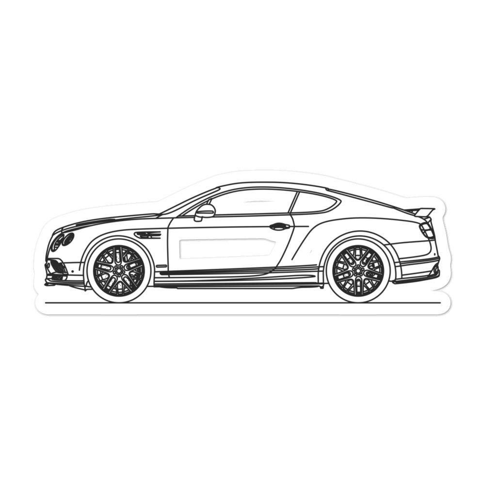 Bentley Continental Supersports Sticker