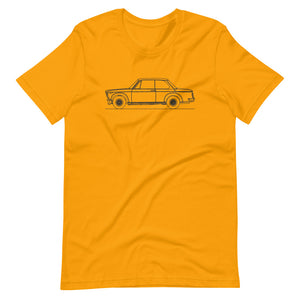 BMW 2002 Turbo T-shirt Gold - Artlines Design