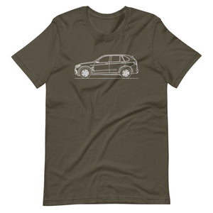 BMW F85 X5 M T-shirt Army - Artlines Design