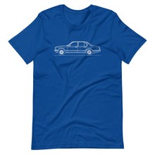 Load image into Gallery viewer, BMW E23 745i T-shirt True Royal - Artlines Design