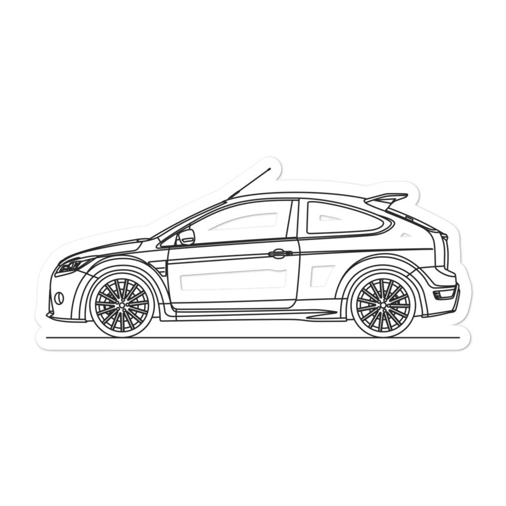Ford Focus II RS Sticker - Artlines Design