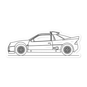 Ford RS200 Sticker - Artlines Design