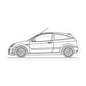 Ford Focus I RS Sticker - Artlines Design