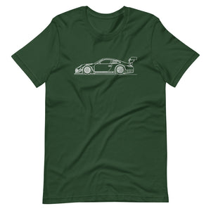 Porsche 911 997.2 GT3-R T-shirt Forest - Artlines Design