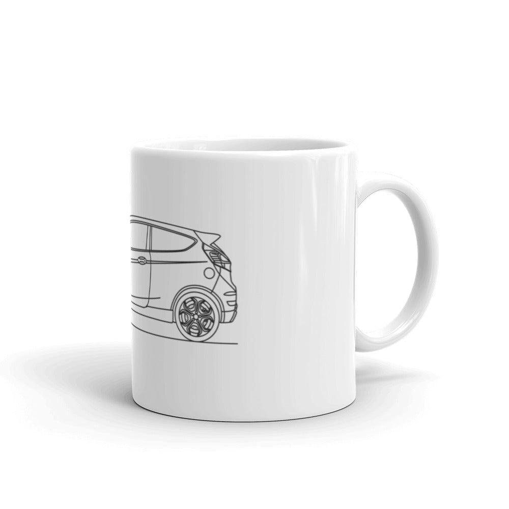 Ford Fiesta ST 6th Gen Mug