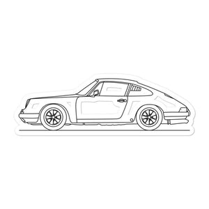 Porsche 911R Classic Sticker - Artlines Design