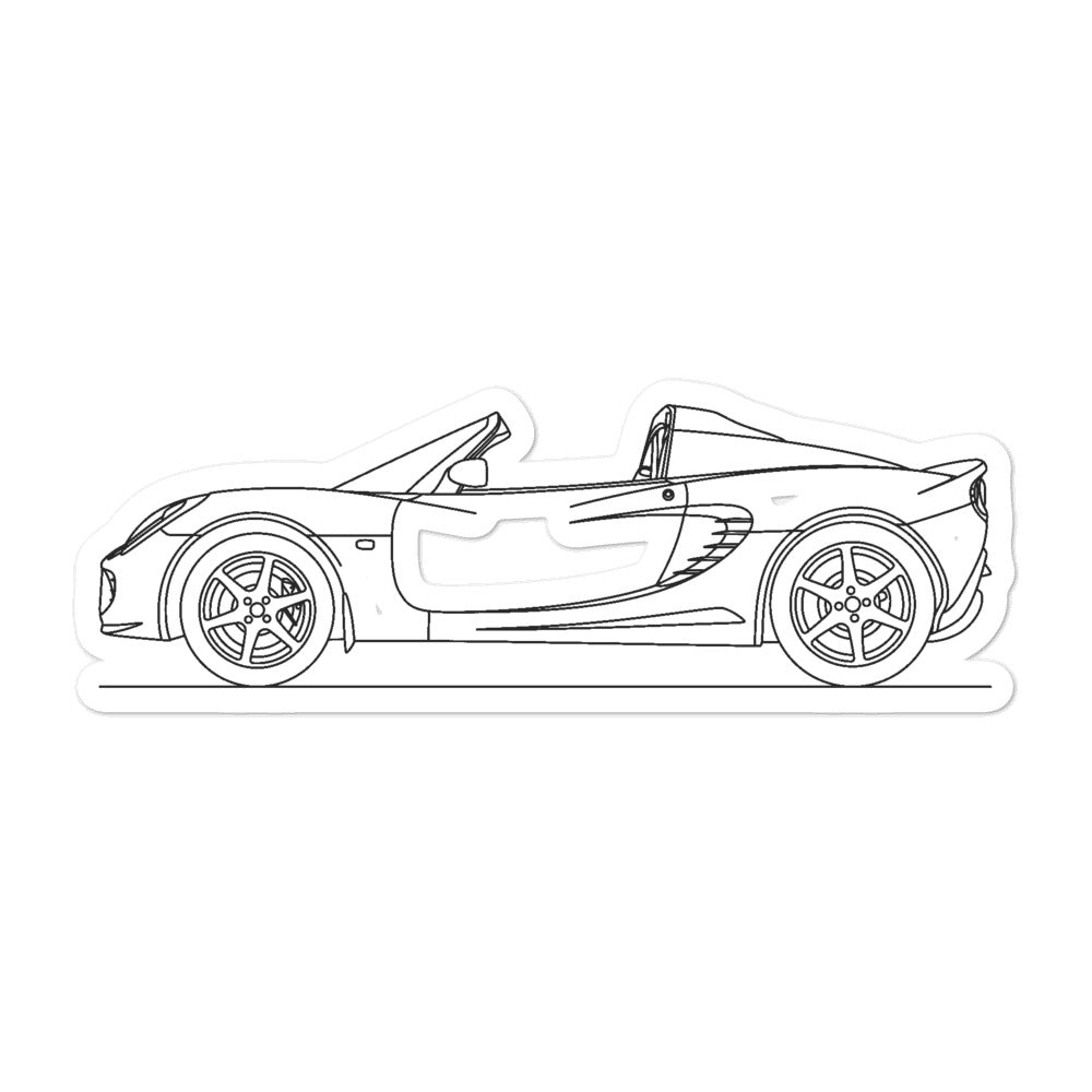 Lotus Elise Series 2 Sticker