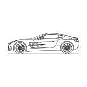 Aston Martin One-77 Sticker