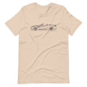 Aston Martin Vanquish S Volante Heather Dust T-shirt - Artlines Design