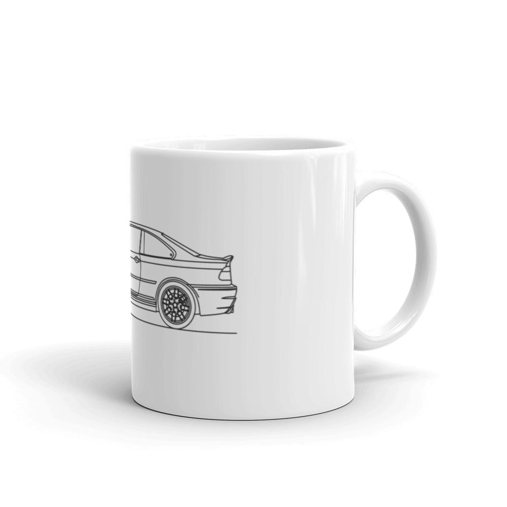 BMW E46 M3 Coupe Mug