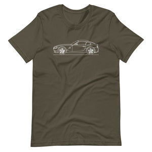 BMW E86 Z4M T-shirt Army - Artlines Design