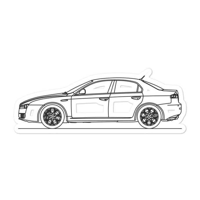 Alfa Romeo 159 Sticker - Artlines Design