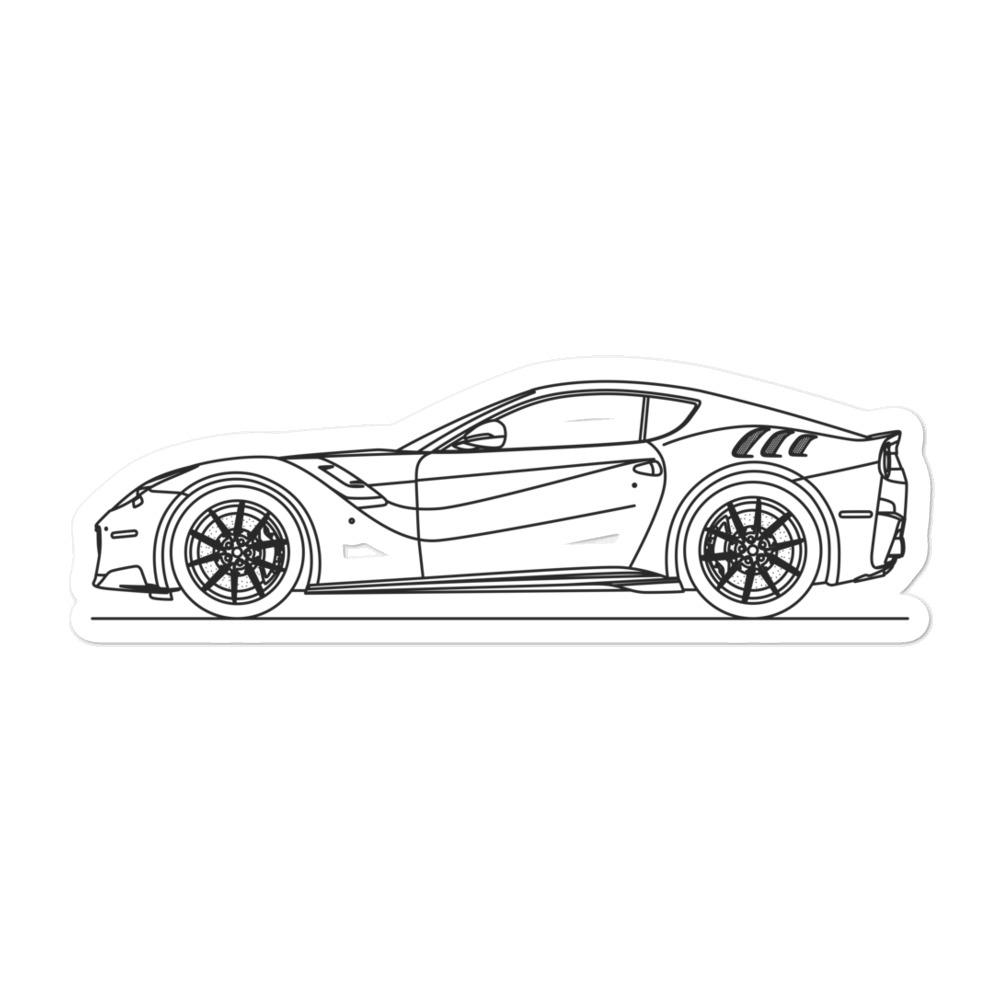Ferrari F12 TDF Sticker - Artlines Design