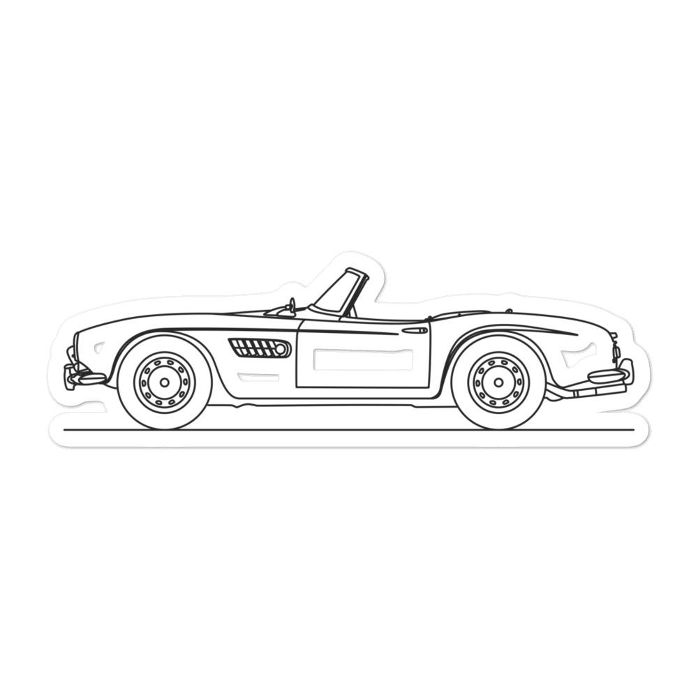 BMW 507 Sticker - Artlines Design