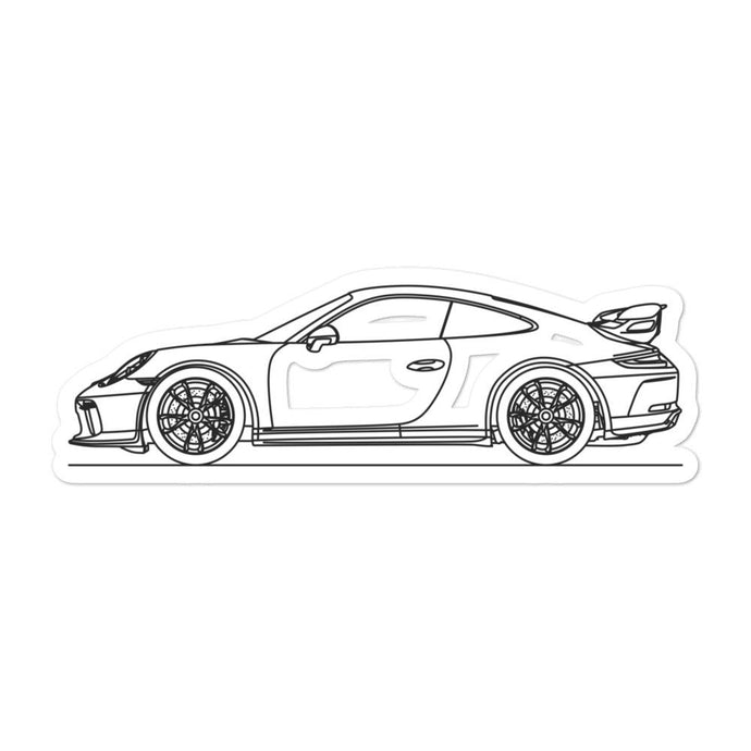 Porsche 911 991.2 GT3 Sticker - Artlines Design