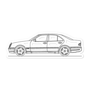 Mercedes-Benz E 55 AMG W210 Sticker