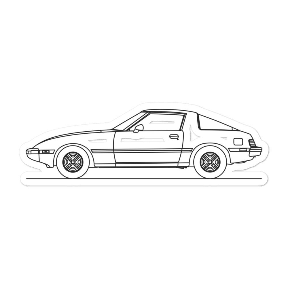 Mazda RX-7 FB Sticker - Artlines Design