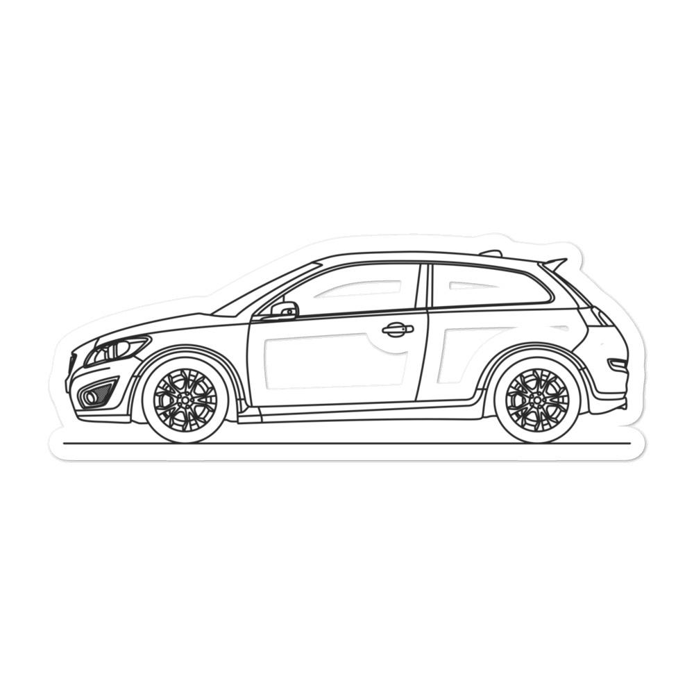 Volvo C30 R-Design Sticker - Artlines Design