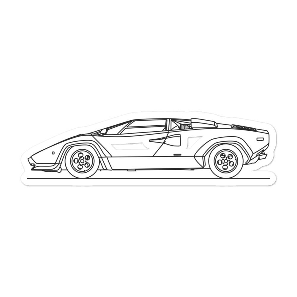 Lamborghini Countach Sticker