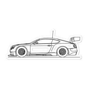 Bentley Continental GT3 Sticker