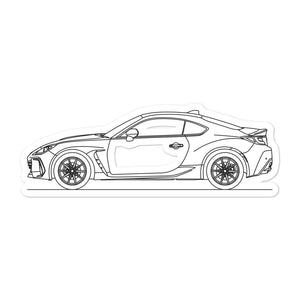 Subaru BRZ 2nd Gen Sticker