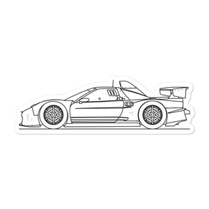 Acura NSX I GT500 Sticker