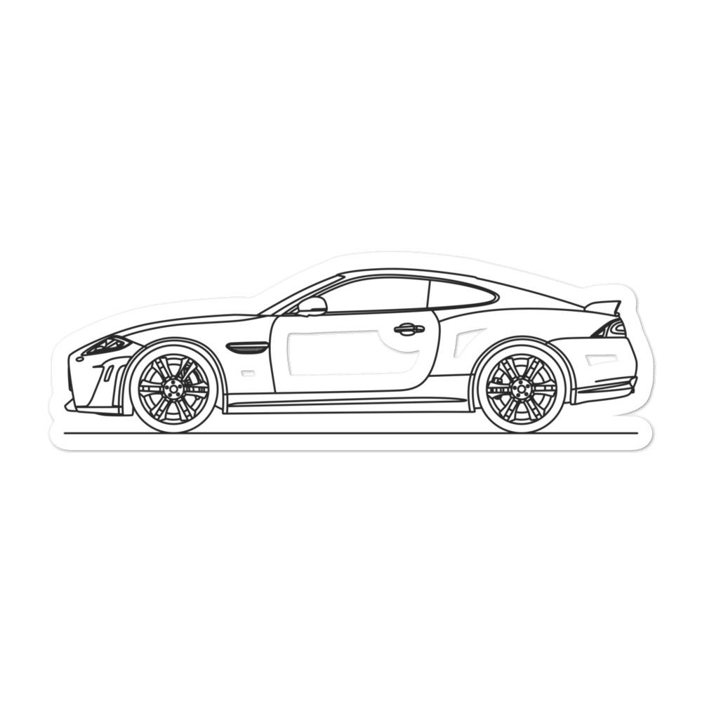 Jaguar XKR-S Sticker