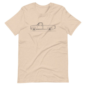 Chevrolet C/K 3rd Gen T-shirt Heather Dust - Artlines Design