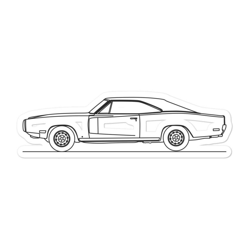Dodge Charger I R/T Sticker - Artlines Design