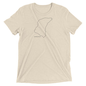 Snaefell Mountain Course Minimal Line Art T-shirt