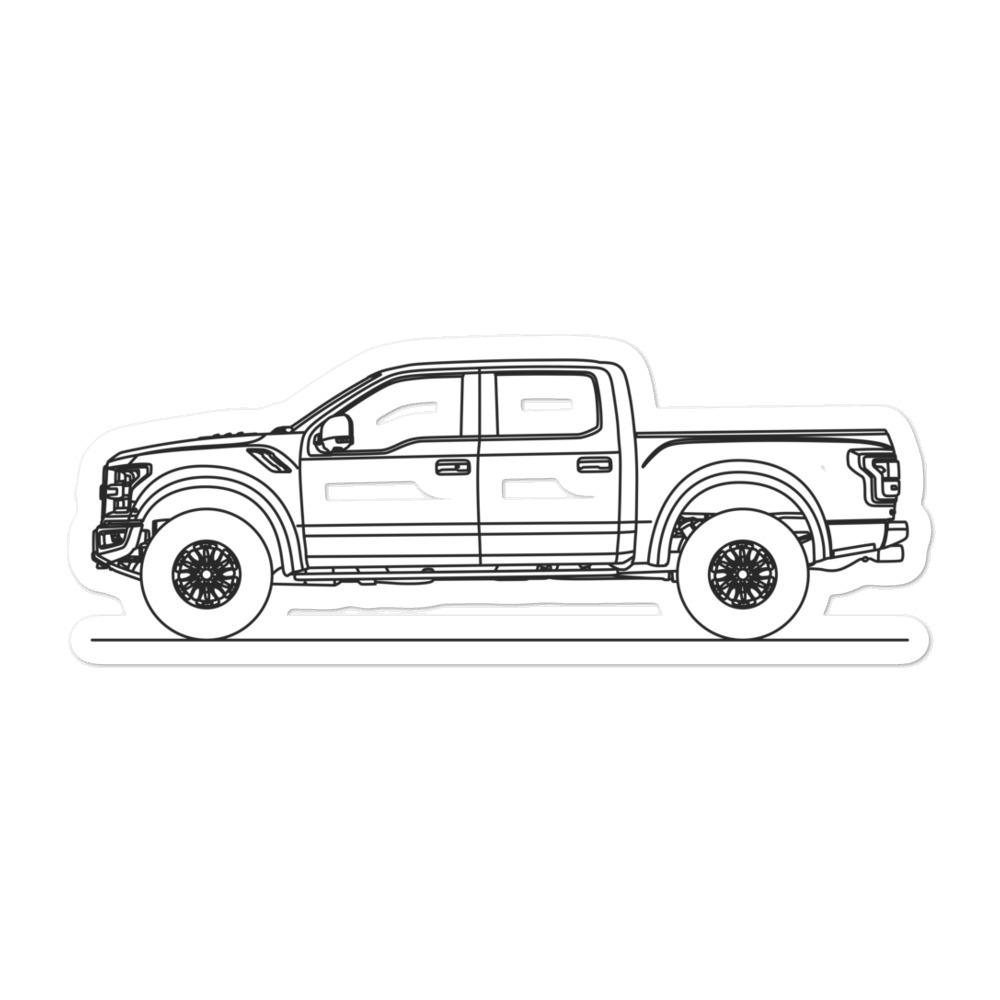 Ford F-150 Raptor XIII Sticker - Artlines Design