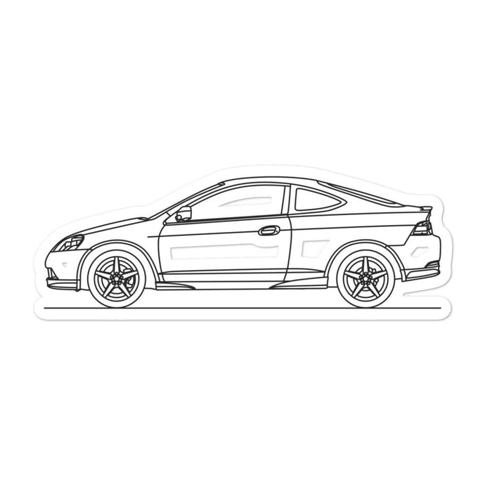 Acura RSX Type-S Sticker