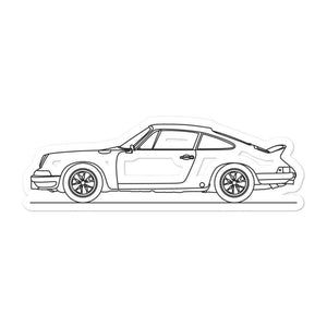 Porsche 911 Carrera RS 2.7 Sticker - Artlines Design